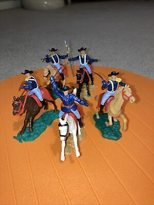 Timpo Mounted  Cavalry Soldiers X 5 • 24.99£
