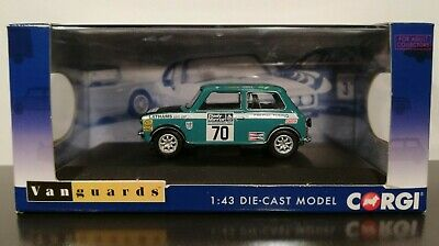 Mini Clubman 1275GT  1972 RAC Rally  PHIL COOPER  1:43 Corgi Vanguards VA13507 • 27.01£