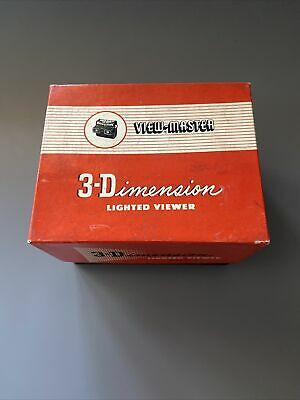 Viewmaster 3-Dimensions Viewer BOXED • 24.99£