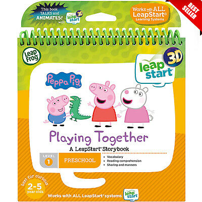 LeapFrog Leapstart Nursery Peppa Pig Story Book 3D Enhanced And Activity Toy New • 12.95£