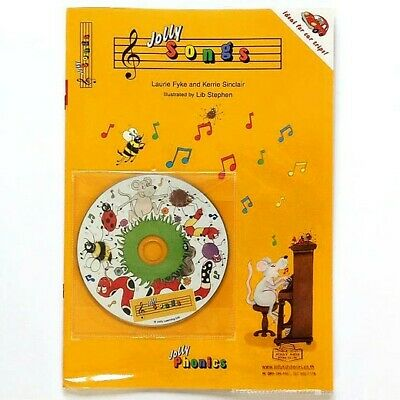 Jolly Phonics Book And Cd • 6.99£