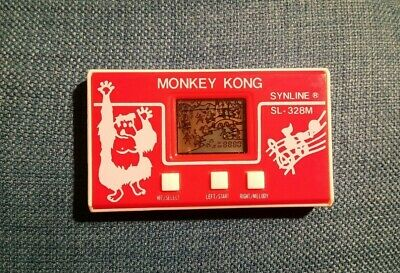 Rare Vintage Collectable Electronic Game 	Synline Monkey Kong  • 7.99£