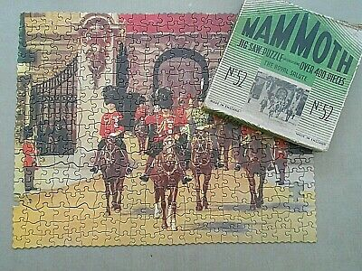 1930's Vintage MAMMOTH Jigsaw Puzzle No.52 THE ROYAL SALUTE Complete • 9.99£