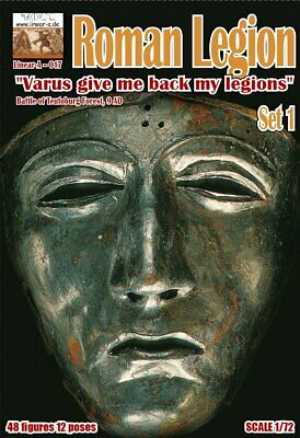Linear-A 017 Roman Legion Set 1.  Varus Give Me Back My Legions  1/72 Scale. • 17.50£