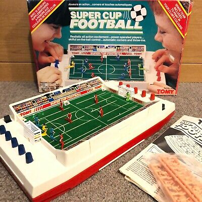 Tomy Electric Super Cup Football Vintage Game - Not Working - Spares / Repair • 54.99£