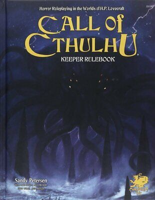 Call Of Cthulhu 7th Edition Keeper Rulebook • 41.99£