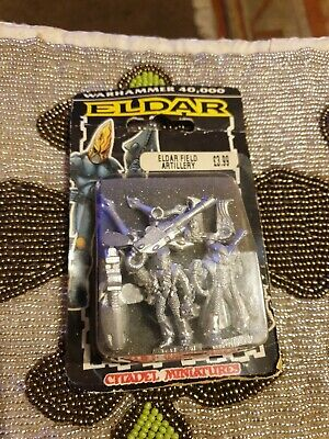 Warhammer 40k Eidar Field Artillery Games Workshop Citadel Miniatures Rare 1990s • 20£