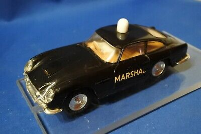 SCALEXTRIC Mm C68 ASTON MARTIN DB4 GT MARSHALS CAR  EARLY 60'S WORKING READ AUCT • 46£