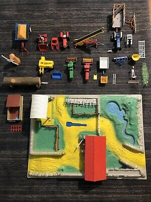 Vintage Britains Ltd No:47 Farmset And Collection Of Vehicles Unboxed • 120£