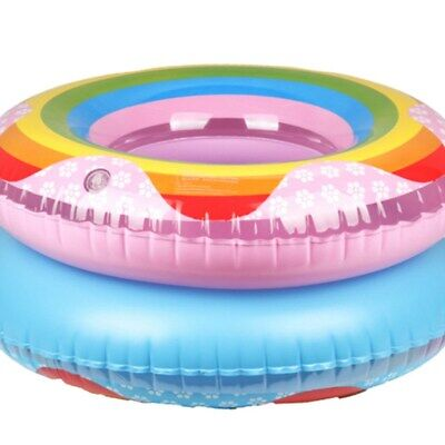 90CM Swimming Ring Inflatable Float Round Kids Child Water Pool Swim Circle Toys • 4.99£