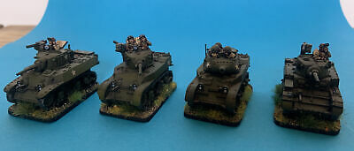 Forged In Battle - Collectors Standard - 15mm - Collection Of American Tanks • 20£