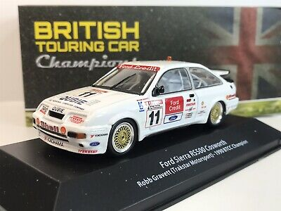 Ford Sierra Cosworth RS500 BTCC Rob Gravett British Touring Car Rare Atlas Model • 29.50£