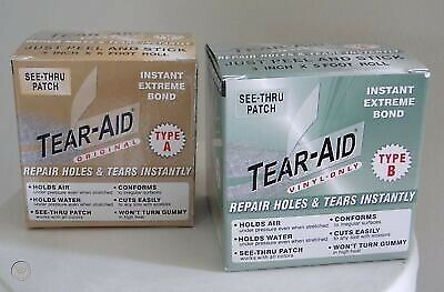 Tear Aid Repair Tape Type A&b (multiple Sizes) Suitable For Near All Repairs • 13.75£