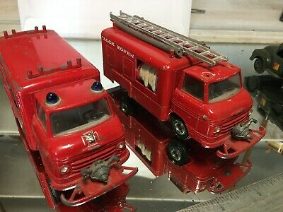 Two Tekno Volvo Fire Engines • 28£