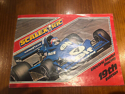 1978 Scalextric Model Racing Brochure With Price List • 3£