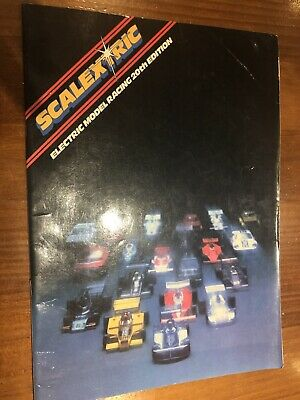 1979 Scalextric Model Racing Brochure With Price List • 3£