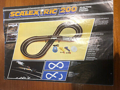 1977 Scalextric Model Racing Brochure With Price List • 3£