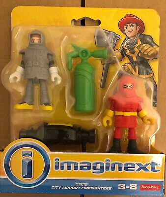Fisher Price Imaginext City Airport Firefighters • 15£