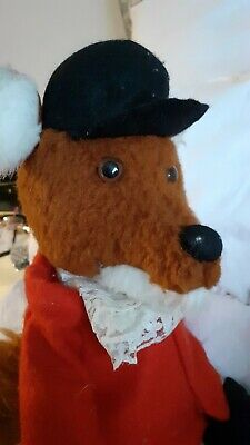Vintage Toy Fox Dressed 1970s • 6£