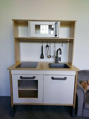 Ikea Childrens Kitchen With Utensils Etc • 25£