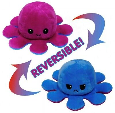 Cute Double Sided Reversible Octupus Plush Toy  • 6.49£