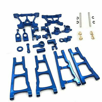Aluminum Alloy Metal Upgrade Parts Kit For TRAXXAS SLASH 4x4 1/10 RC Car • 45.99£