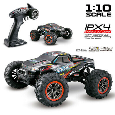 4WD RC Car High Speed 2.4GHz Remote Control 1:10 Scale Off Road Monster Trucks. • 83.79£
