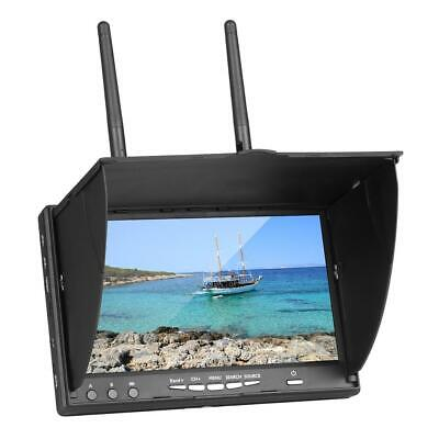 7Inch FPV Monitor LT5802S 5.8G 40CH Backlight Multicopter Build-in Battery • 72.67£