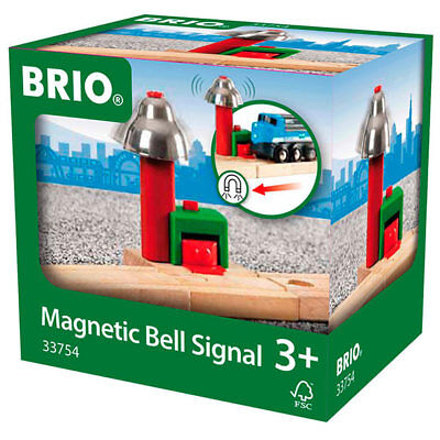 BRIO 33754 Magnetic Bell Signal Track For Wooden Train Set • 8.45£