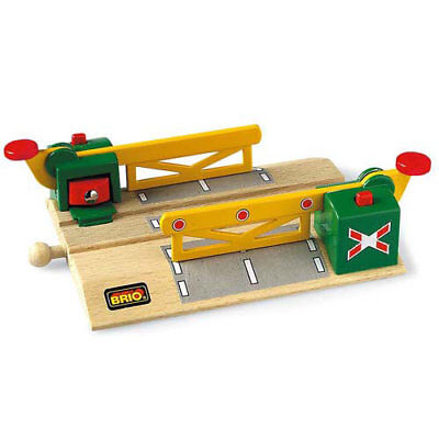 BRIO 33750 Magnetic Level Crossing Track For Wooden Train Set • 12.79£