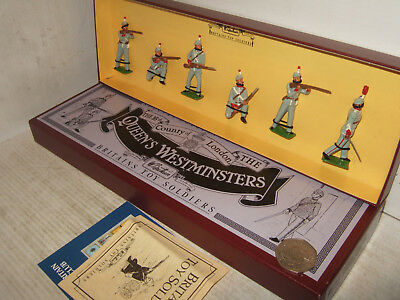 Britains 8827 The Queens Westminsters, 6 Piece In Original Britains Box.  • 41.85£