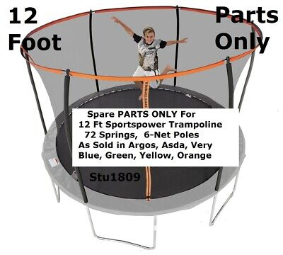 IN STOCK Parts For Sportspower 12 Ft Trampoline (6-pole Model) Argos, Very, ASDA • 13.99£