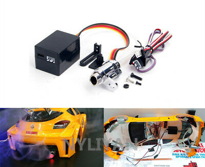 HPI  1:10 RC Car Electronic Simulation Smoking Exhaust Pipe Upgrade Spare Kit • 17.28£