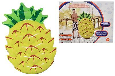 Inflatable Pineapple Pool Float Beach Holiday Swimming Water Beach • 10.99£
