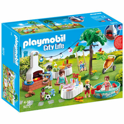 PLAYMOBIL Housewarming Party - City Life 9272 • 26.95£
