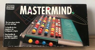MASTERMIND LOGIC GAME By Parker / Hasbro Choose You Spare Pieces Pegs Etc • 2.95£