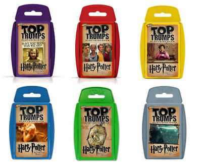 Official Harry Potter Movies Top Trumps Playing Card Game • 4.95£