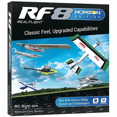 Realflight Real Flight 8 RF8 HH Horizon Hobby Edition Upgrade Disk Software Only • 77.15£