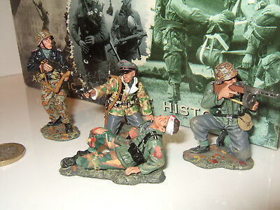 King & Country WSS 65 German Infantry 1944 In   The Last Stand  In 1:30 Scale • 139.65£