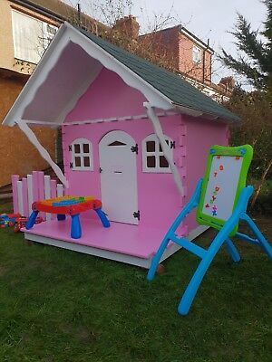Kids Outdoor Wooden Playhouse • 600£