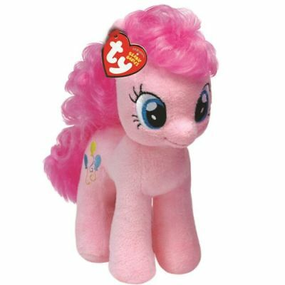 Official Ty Beanie Babies My Little Pony Pinkie Pie Soft Toy New With Tag • 6.95£