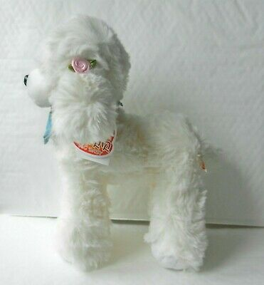 Plush Soft Toy Puppy Dog Poodle In White, Brand New • 24.99£