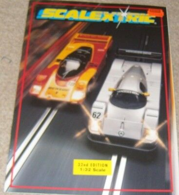1991 SCALEXTRIC 32nd Edition CATALOGUE Excellent • 2.99£