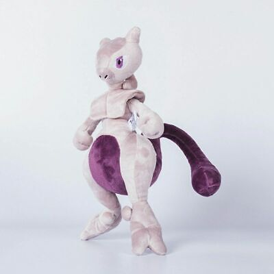 12 Inches Pokemon Mewtwo Soft Plush Doll Teddy Stuffed Toys Kids Cute Gifts UK • 7.99£