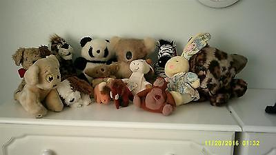 Soft Animal Toys-job Lot Of 15 • 10£