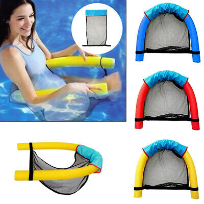 Swimming Pool Inflatable Floating Water Hammock Lounge Chair Water Summer Toy • 8.15£