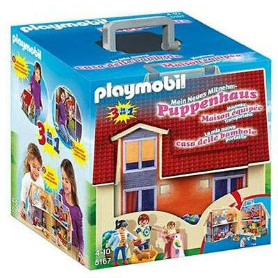 PLAYMOBIL Take Along Modern Doll House - My Take Along 5167 • 32.95£