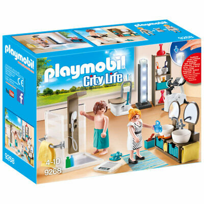 PLAYMOBIL Bathroom - City Life 9268 • 17.95£