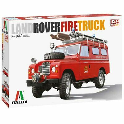 ITALERI 3660 Land Rover Fire Truck 1:24 Car Model Kit • 26.94£