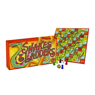 Vintage Snakes And Ladders Game • 9.95£